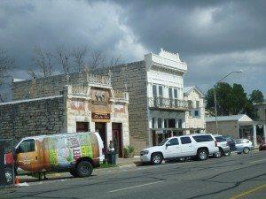 1800's Buildings Still Line The Main Street Of Fredericksburg, TX