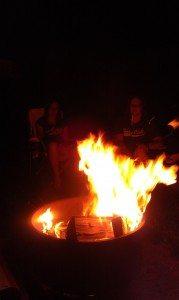 The Blazing Campfire