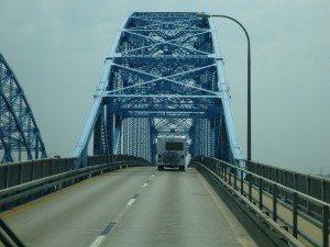 The Bridge That Takes You Off Grand Island, Over The Niagara River.