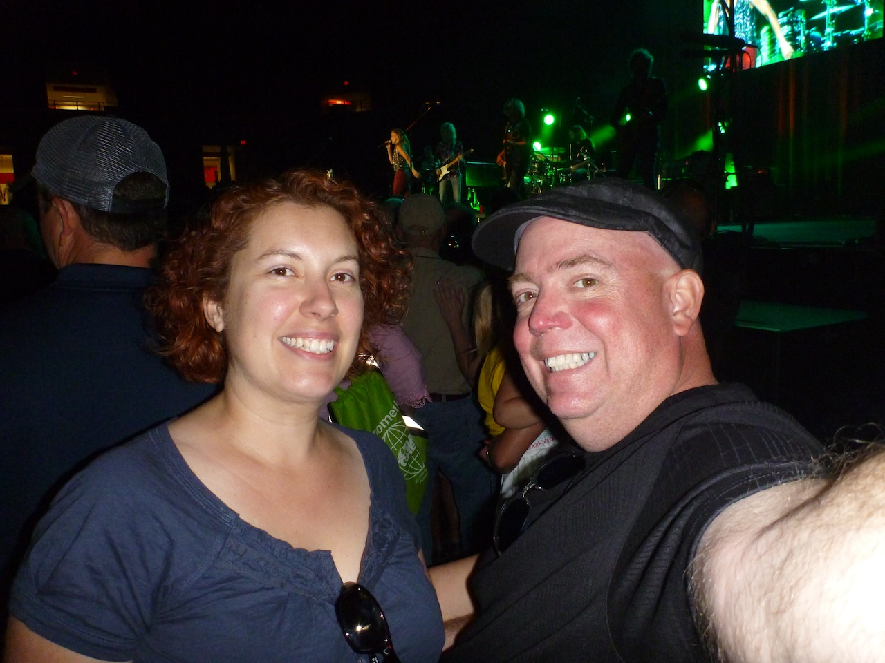 David And Brenda At The Sheryl Crow Concert
