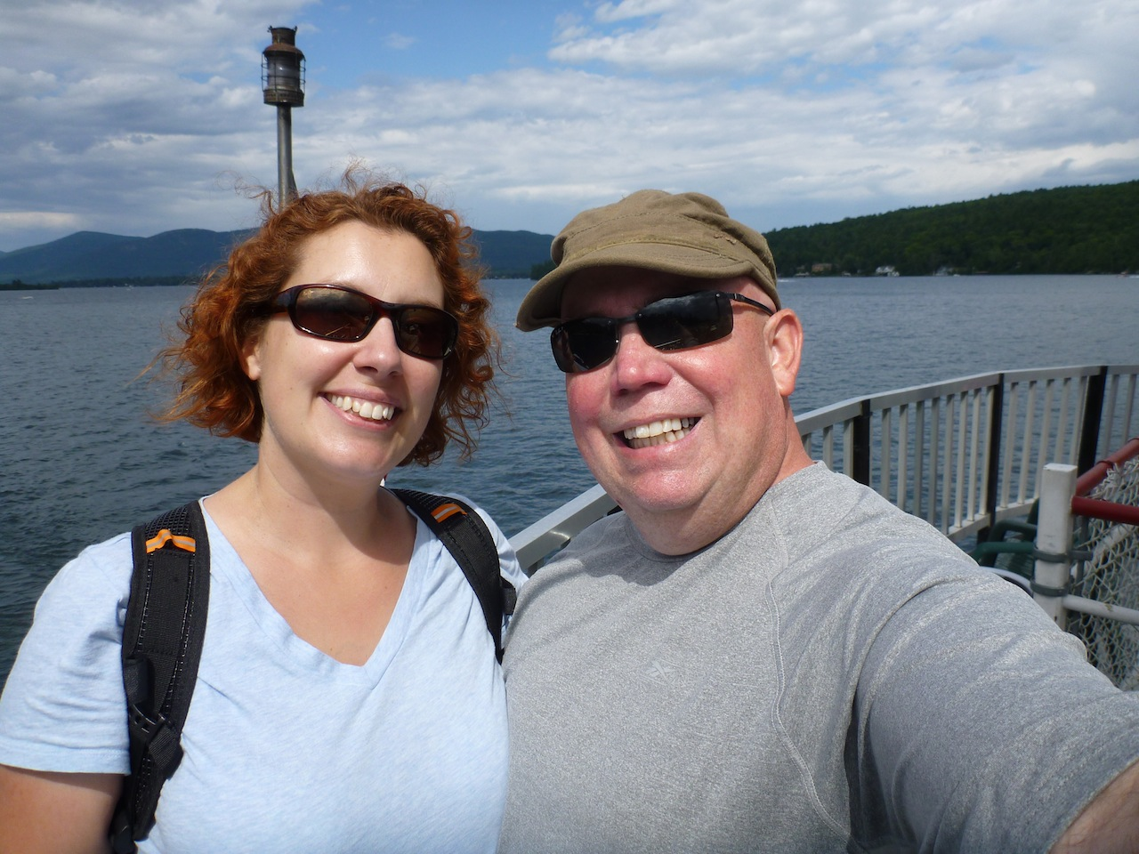 Here We Are On The Minnie Ha Ha Steam Boat Tour