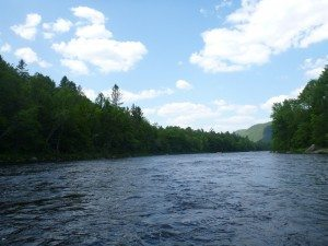 Whitewater Rafting Down The Hudson River In The Adirondacks