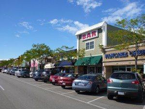 Main Street In Mackinaw City, Michigan