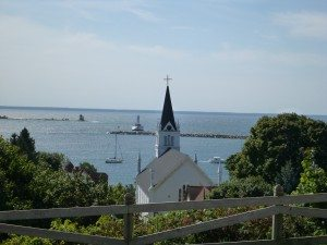 A Cute Church Overlooking The Bay