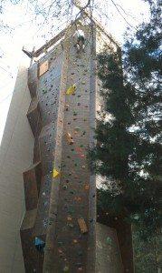 The Climbing Wall At James Island County Park, SC