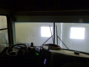 Inside The Truck Wash Getting Nice And Clean.