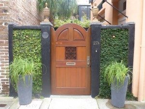 A Beautiful Doorway To Someone's Home