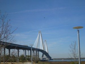 Arthur Ravenel Jr Bridge From Charleston To Mount Pleasant