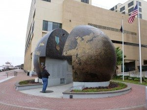 The WWII Globe Memorial