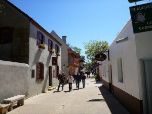 The Old Streets Of St. Augustine