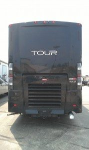 The Back of The New Motor Coach