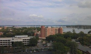 The View Of Madison, WI From the 9th Floor Of Meriter Hospital