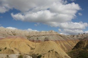 A View From The Yellow Mounds Overlook In The Badlands