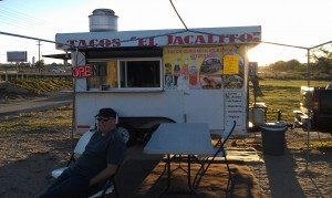 Taco Truck On The Side Of The Road