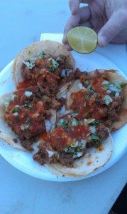 Yummy Tacos From The Taco Truck