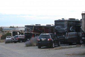 Our Site At The Santa Fe Skies RV Resort