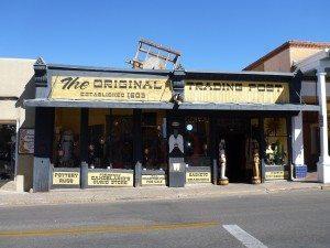 An Old Trading Post Near Santa Fe Square