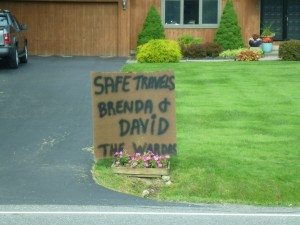 The Sign At The End Of Our Street From Our Friends