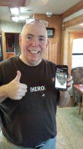 David Fixed His Screen On His Phone