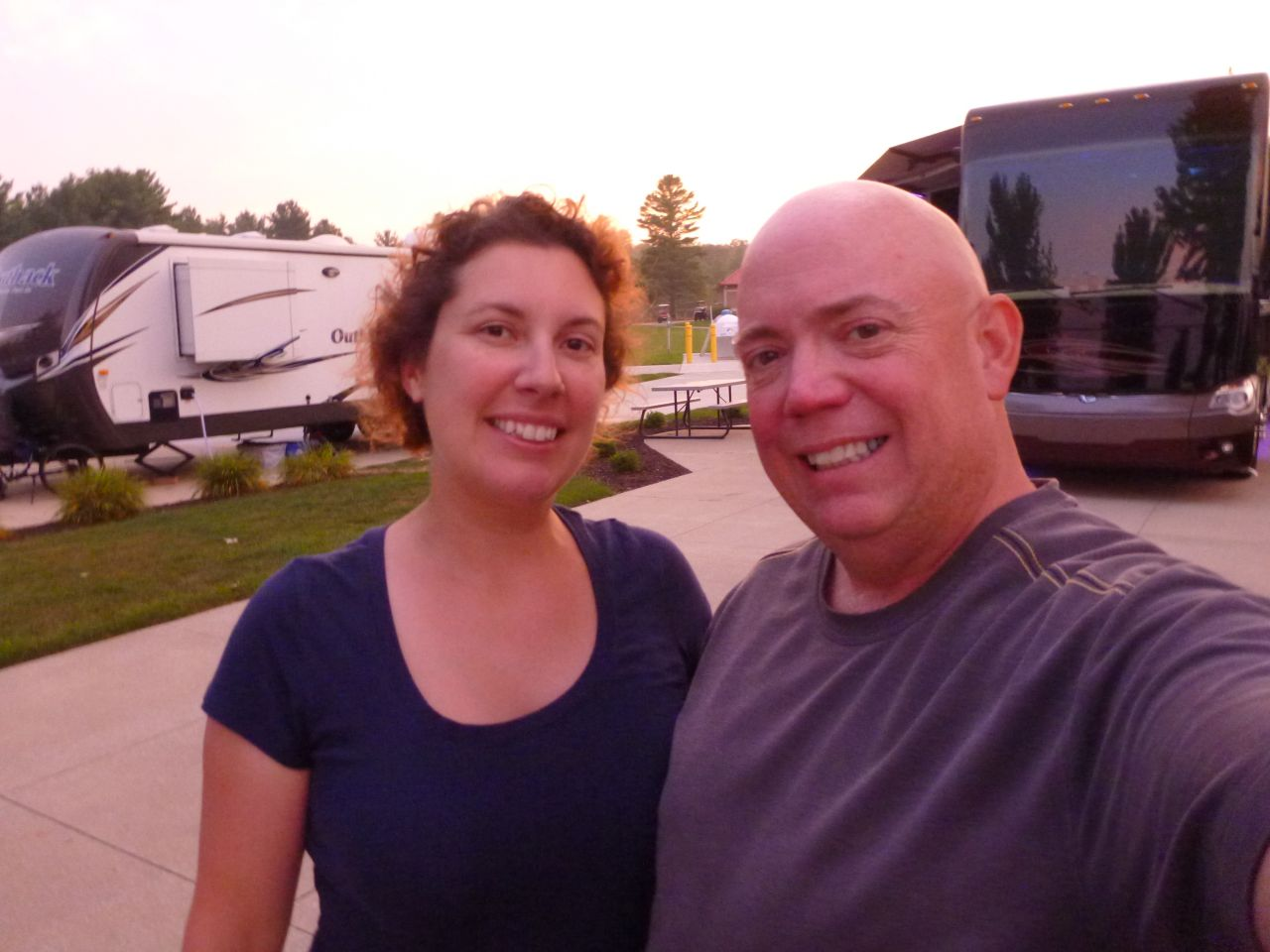 Brenda And David At River Ridge RV Resort