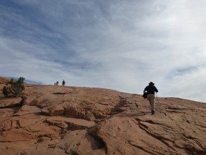 The Hike To Delicate Arch