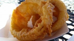 Beer Breaded, Hand Dipped Onion Rings