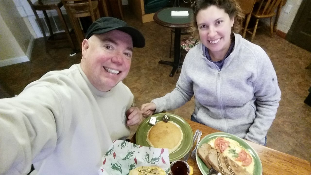 Breakfast At Sweet Peppa's In Keene, TX