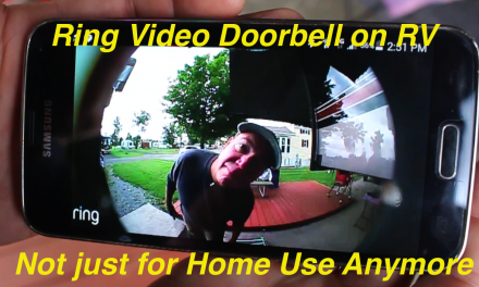 Video Doorbell For An RV? You Betcha!