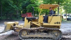 David Working The Dozer