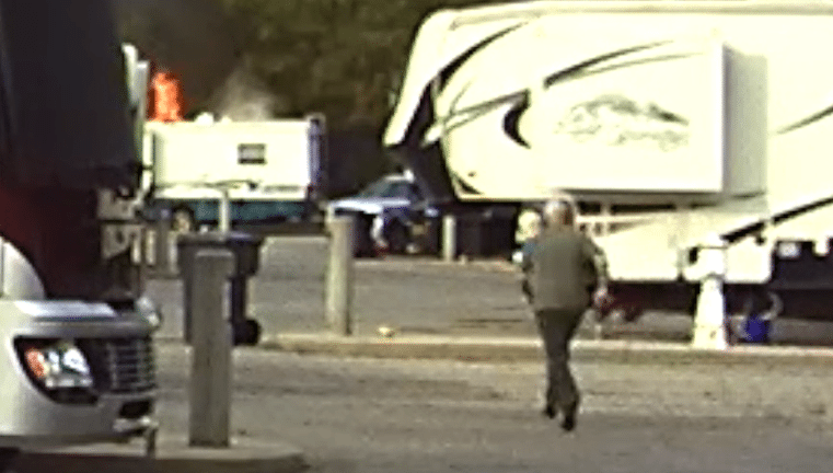 RV'ers Rush To Help With RV Fire