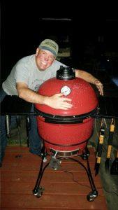 David And His Kamado Joe Grill/Smoker
