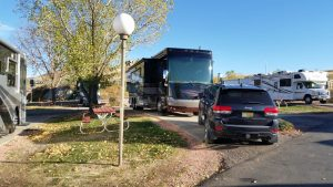 Our Site At Dakota Ridge RV Park In Golden, CO