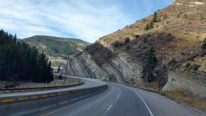 Beautiful Drive Through The Rockies