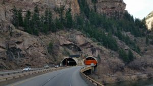 One Of The Tunnels Through The Rockies