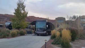 Our Site At Portal RV Resort In Moab, Utah