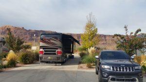 Our Site At Portal RV Resort In Moab, Utah