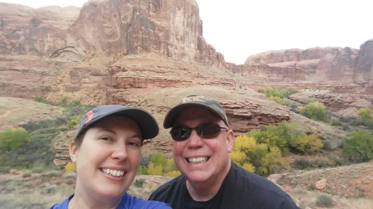 Start Of The Chicken Corner's Off Roading Trail In Moab, Utah