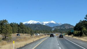 Traveling Interstate 40 Eastbound Towards Flagstaff, AZ