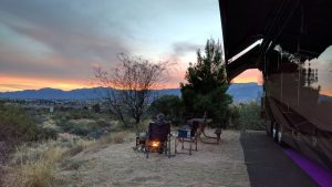 Our Site At Dead Horse Ranch State Park In Cottonwood, AZ