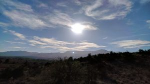 Our View From Our Site At Dead Horse Ranch State Park In Cottonwood, AZ