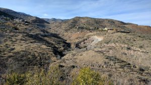 A Scenic View Of Jerome, Arizona On The Road To Jerome