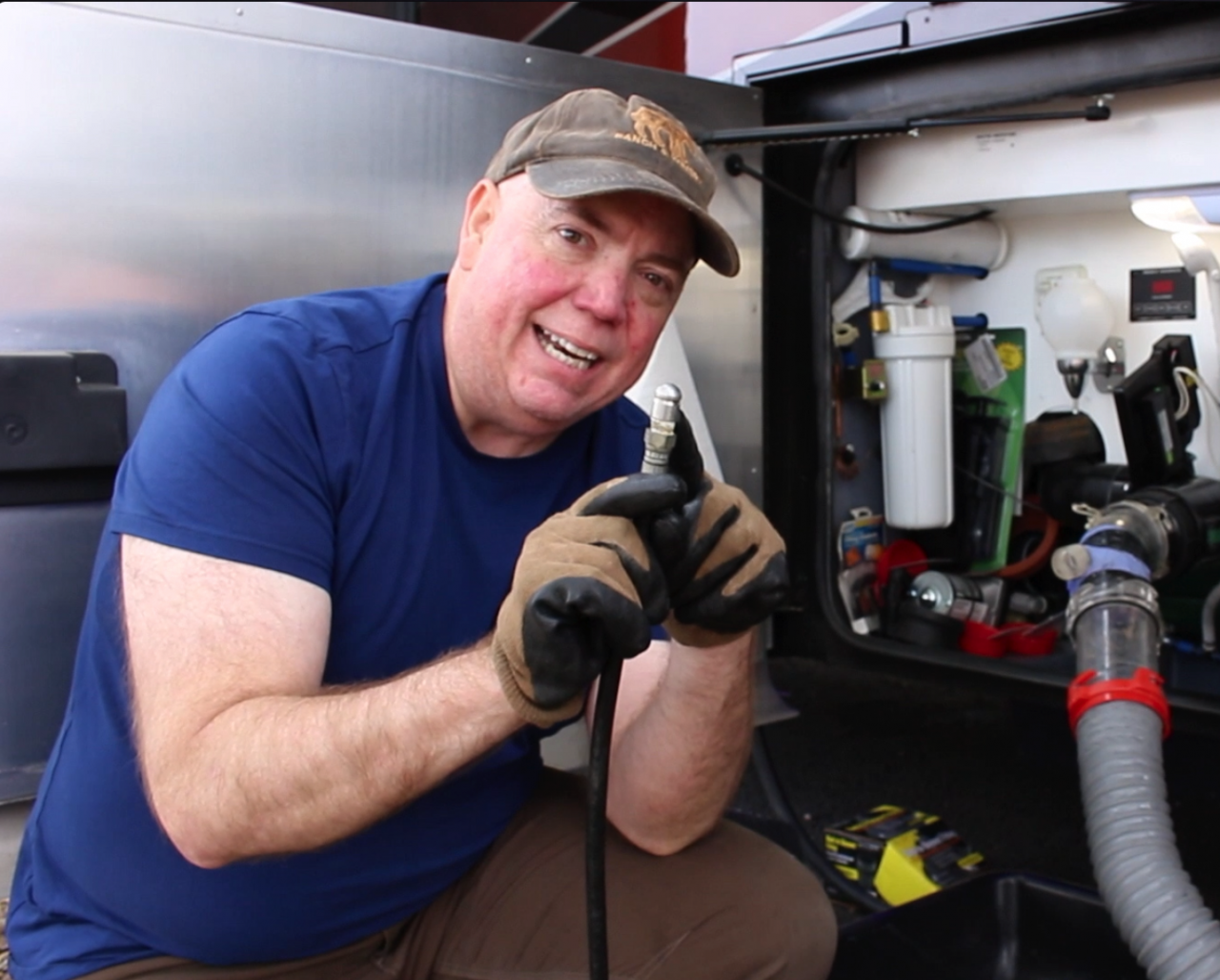 Gray and Black RV Tank Flush Out…It's Important!