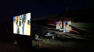 Movie Night In Quartzsite, AZ