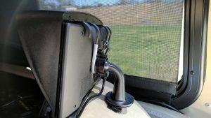 Garmin 770 mounted