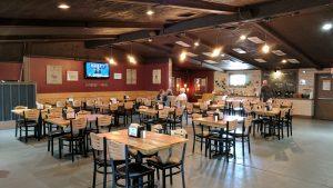 Dining Room At Stoneyard Breakfast Company In Brockport, NY