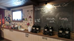 Coffee Bar At Stoneyard Breakfast Company In Brockport, NY
