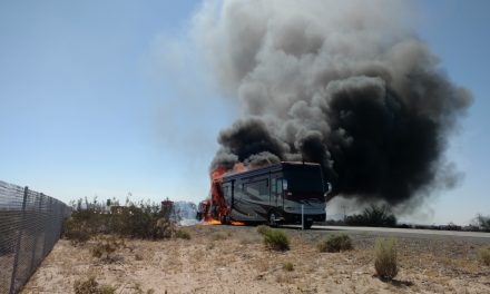 Coach Engine Fire – Sadly Fire Suppression Not Installed Yet