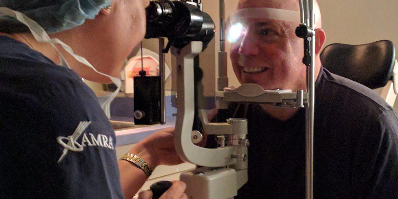 David Get's a Camera Eye Implant!