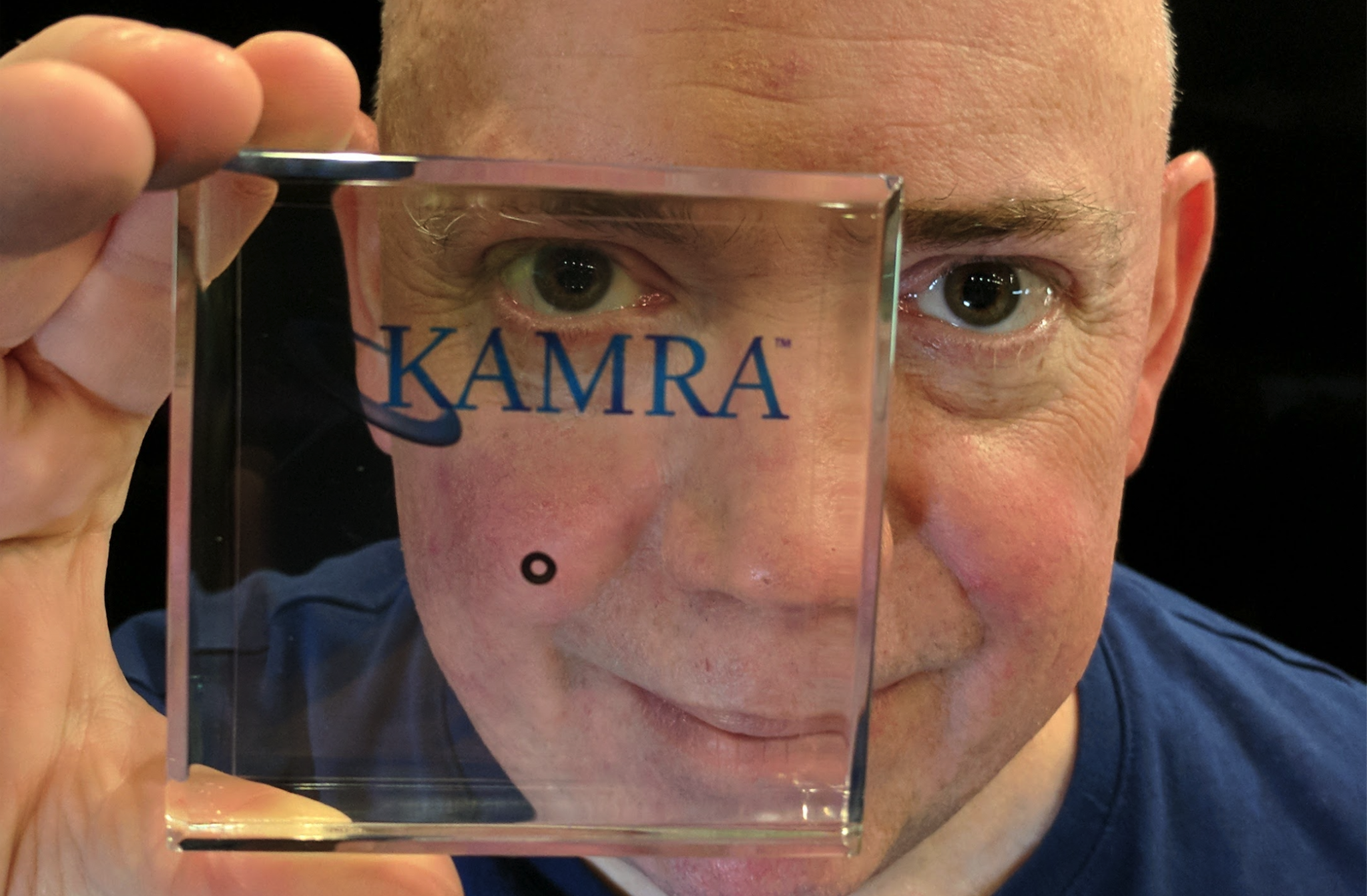 David Bott Showing Kamra inlay