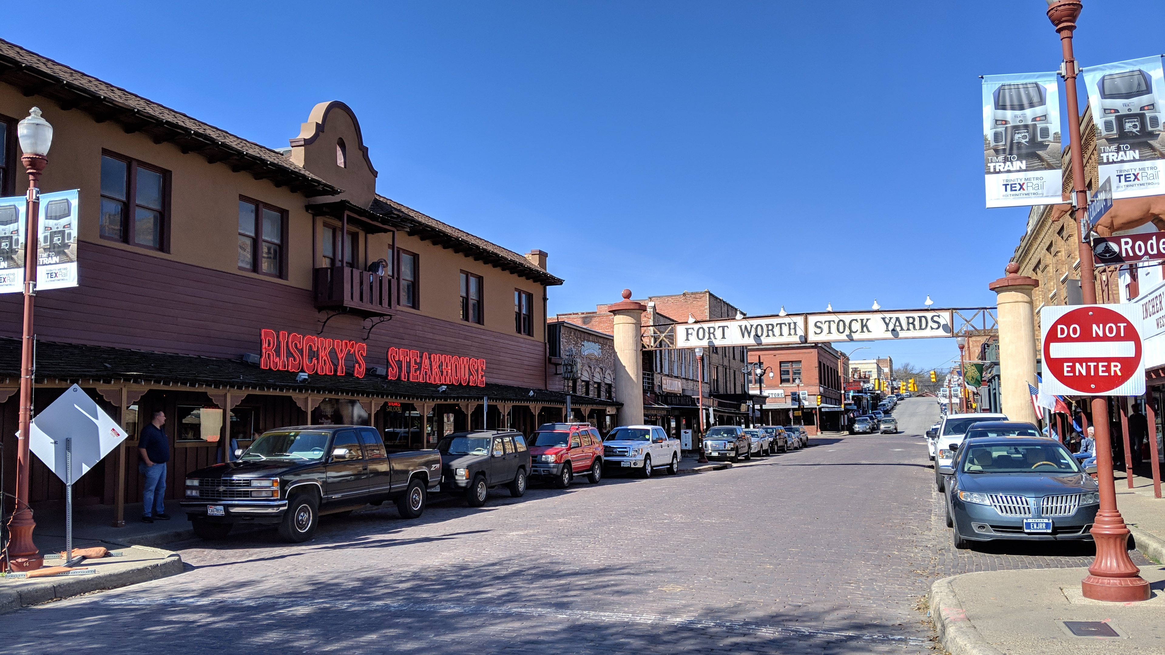 An Afternoon At The Fort Worth Stockyards Outside Our Bubble
